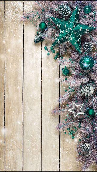 Обои на телефон украшение, сосна, рождество, дерево