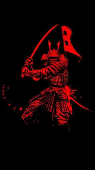 Обои на телефон самурай, воин