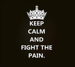 Обои на телефон цитата, спокойствие, поговорка, новый, крутые, знаки, жизнь, боль, бой, live, keep, fight the pain