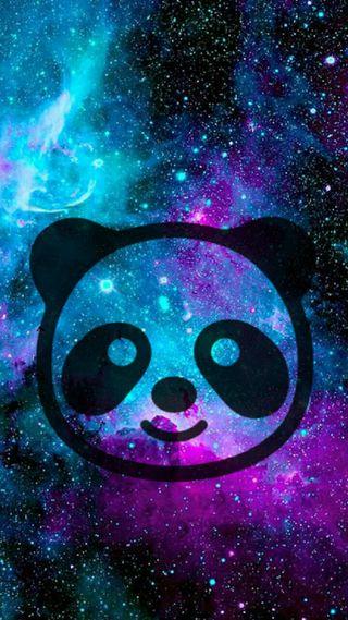 Обои на телефон панда, галактика, use comma to seperate, galaxy
