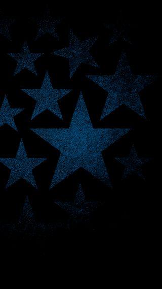 Обои на телефон чистые, минимализм, черные, темные, текстуры, синие, простые, звезды, звезда, hd