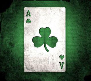 Обои на телефон туз, карты, зеленые, бостон, celtics