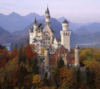Обои на телефон эпичные, замок, европа, германия, medieval, manor, fortress, epic castle