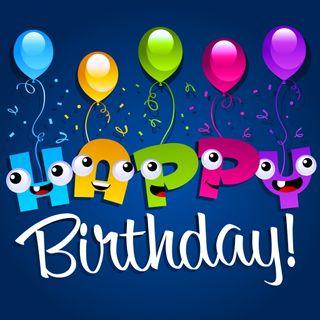 Обои на телефон карты, шары, цветные, счастливые, день рождения, абстрактные, happy