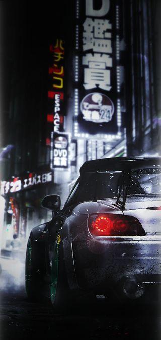Обои на телефон хонда, токио, самсунг, машины, wallpaper s9 by n, samsung, s9, s2000, honda