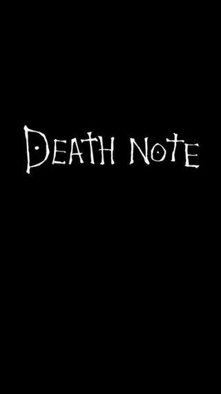 Обои на телефон hd, note, черные, аниме, свет, смерть