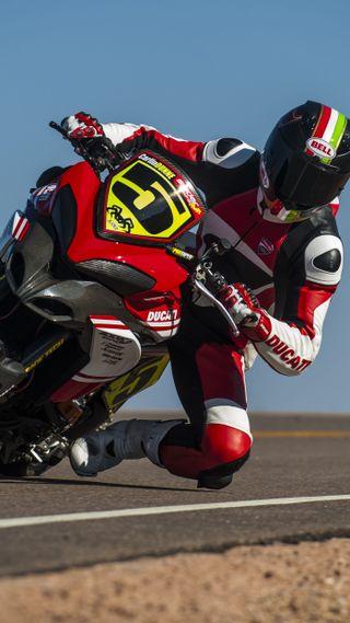 Обои на телефон мотоцикл, дукати, touring, ducati multistrada, ducati