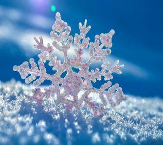 Обои на телефон снег, snow flakes, --------------