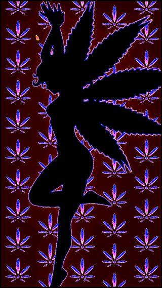 Обои на телефон сказочные, шаблон, цветы, марихуана, листья, pot