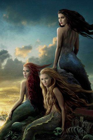 Обои на телефон сказочные, фантазия, русалка, красота, tale, mermaid beauty