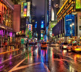 Обои на телефон нью йорк, улица, приятные, взгляд, newyork hdr street