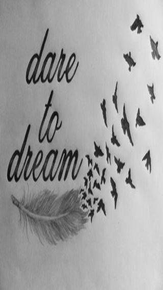 Обои на телефон мотивация, мечта, dare, 2015