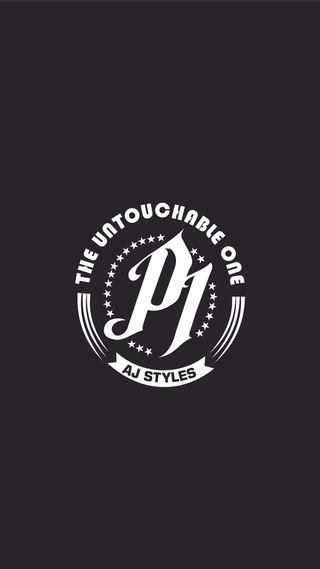 Обои на телефон стили, логотипы, wwe, phenomenal one, phenomenal, p1, aj styles logo, aj styles