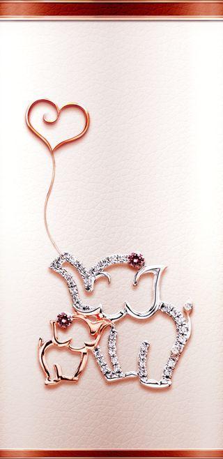 Обои на телефон слон, симпатичные, сердце, прекрасные, любовь, девчачие, бриллианты, rosegoldeleylove, rosegold, love