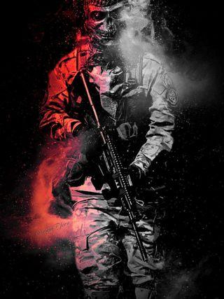 Обои на телефон терминатор, колумбия, война, военные, soldados, jara, airsoft