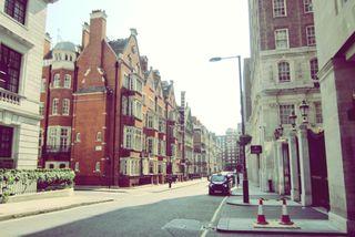 Обои на телефон лондон, улица, ретро, город, regent