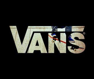 Обои на телефон скейтборд, обувь, логотипы, бренды, vans