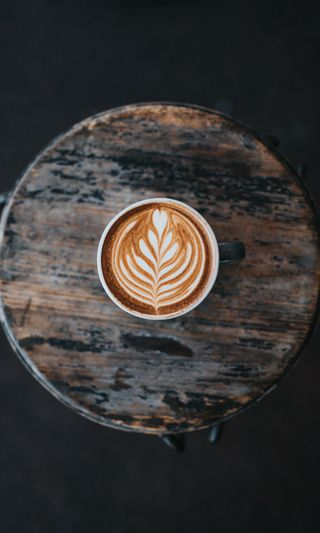 Обои на телефон чашка, кофе, время, latte, delicious, cup, coffee time