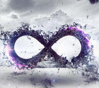 Обои на телефон бесконечность, символ, абстрактные, infinity