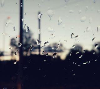 Обои на телефон настроение, сяоми, стекло, популярные, погода, капли, дождь, грустные, xiaomi, hd