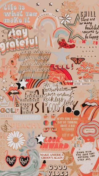 Обои на телефон коллаж, розы, оранжевые, крутые, orange collage
