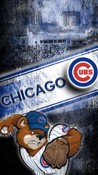 Обои на телефон чикаго, бейсбол, mlb, chicago cubs