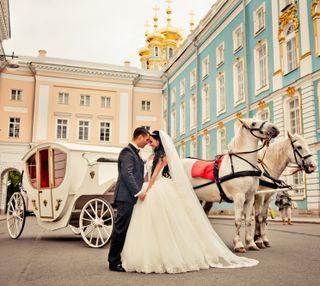 Обои на телефон свадьба, пара, carriage, bride