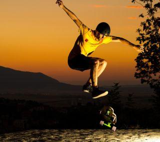 Обои на телефон скейт, мальчик, skate boy, rgerg, ergerg