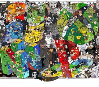 Обои на телефон черепаха, гта, ниндзя, игровые, gaming themed, deux