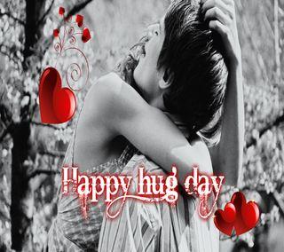 Обои на телефон обнимать, ты, счастливые, пара, милые, любовь, день, валентинка, love, happy hug day, cute hug