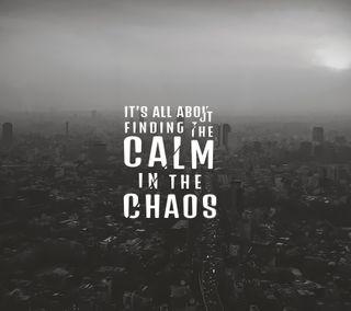 Обои на телефон спокойствие, мир, медитация, cultivate calm, chaotic world, chaos