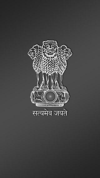 Обои на телефон эмблемы, символ, национальная, индия, satyamev jayate, national symbol, national emblem