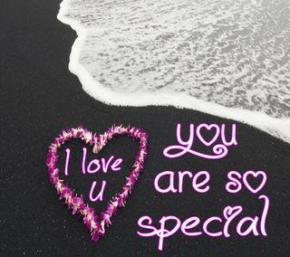 Обои на телефон специальные, цветочные, сердце, романтика, приятные, пляж, любовь, классные, someone, love