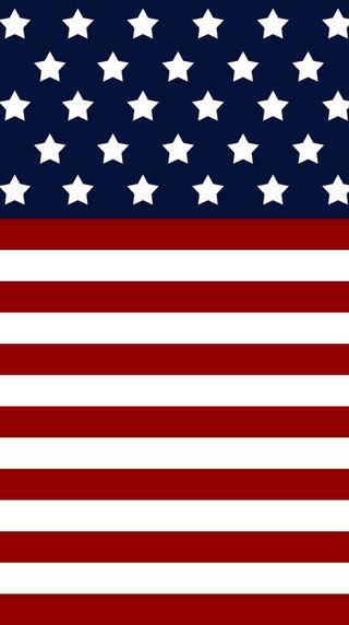 Обои на телефон флаг, us