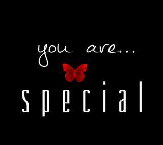 Обои на телефон специальные, ты, любовь, высказывания, you are special, love