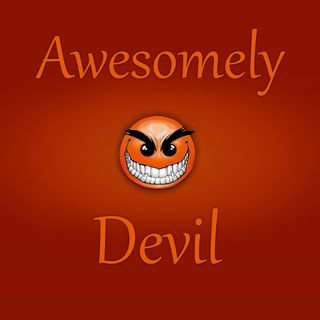 Обои на телефон дьявол, я, оранжевые, классные, mgicr