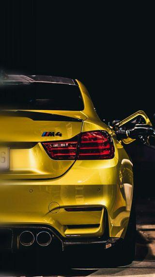 Обои на телефон хвост, тюнинг, свет, машины, м4, купе, зад, вид, бмв, автомобили, tail light, rear view, m power, f82, bmw