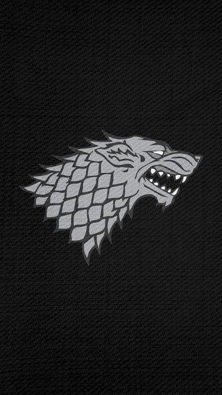 Обои на телефон старк, игра, знамя, дом, house stark banner, house stark, direwolf