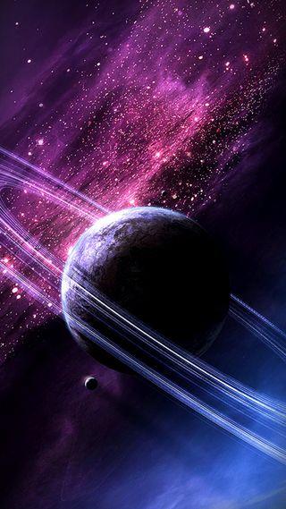 Обои на телефон фиолетовые, космос, галактика, galaxy
