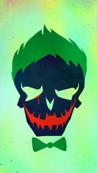 Обои на телефон череп, фильмы, самоубийца, отряд, логотипы, комиксы, джокер, dc
