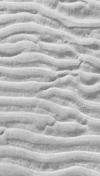 Обои на телефон песок, шаблон, черно белые, серые, простые, природа, пляж