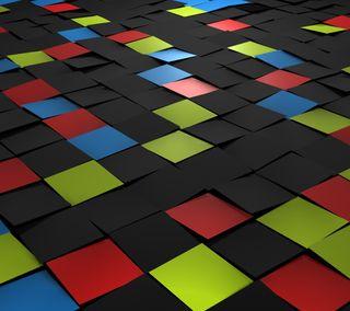 Обои на телефон квадраты, цветные, splitting