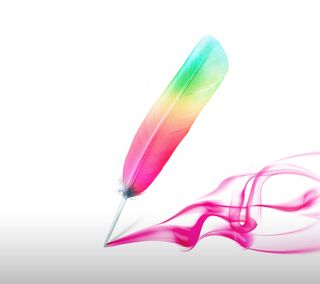 Обои на телефон цветные, перо, абстрактные, stylus, stylo, lg, g4, g stylo