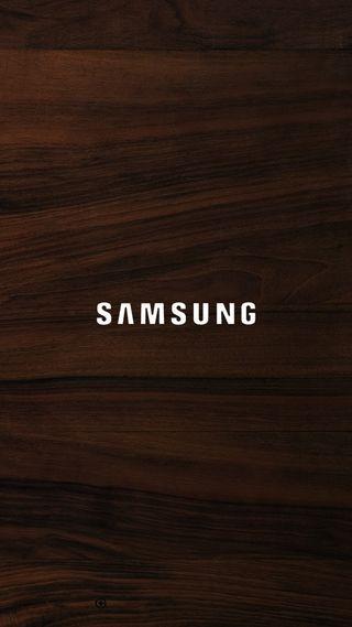 Обои на телефон самсунг, логотипы, дерево, samsung wood logo, samsung