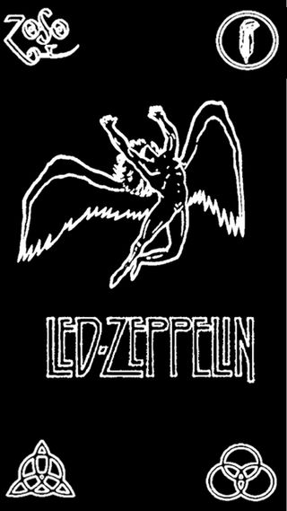 Обои на телефон символы, рок, zeppelin, led