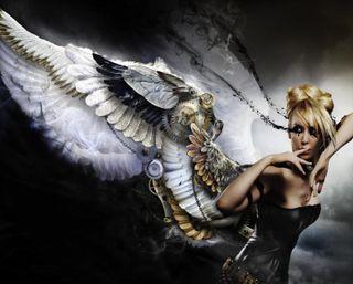 Обои на телефон фантазия, сломанный, слезы, крылья, готические, ангел, broken angel