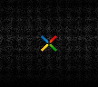 Обои на телефон черные, логотипы, гугл, nexus 5, nexus 4, nexus, google