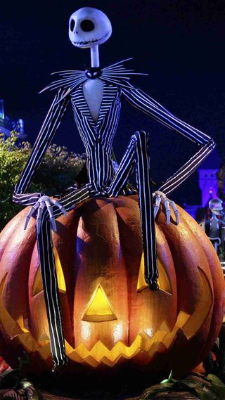 Обои на телефон хэллоуин, тыква, праздник, повод, персонажи, джек