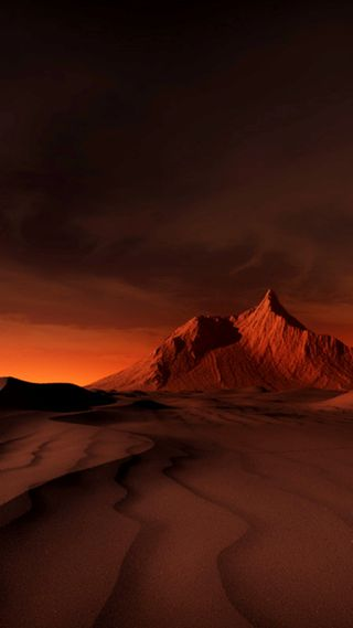 Обои на телефон пустыня, dreamland