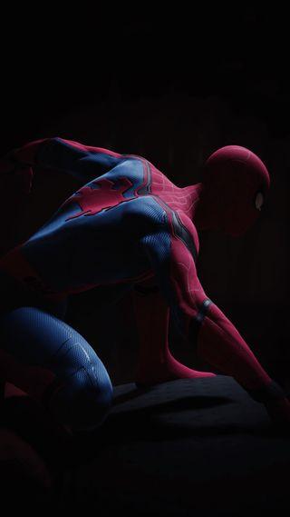 Обои на телефон человек паук, пс4, паук, космос, возвращение домой, видео игра, playstation
